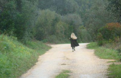 Sur le petit chemin