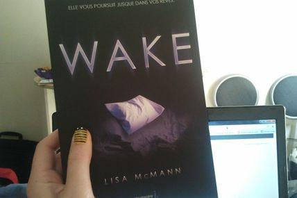Wake de Lisa Mcmann : un titre à paraître chez la Martinière Jeunesse.