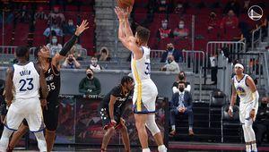Stephen Curry mène Golden State à une cinquième victoire consécutive