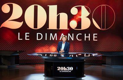 """Estelle Lefebure, Sophie Fontanel, Dorothée Gilbert et Hugo Marchand invités de """"20h30 le dimanche"""" ce soir sur France 2"""