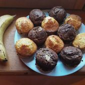 Muffins à la banane - Creativ-idees, le blog de Casse-bonbeca