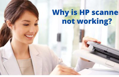 Why is the HP scanner not working?