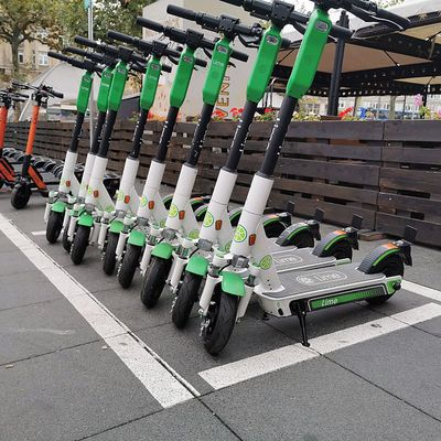 Electric scooters and virus