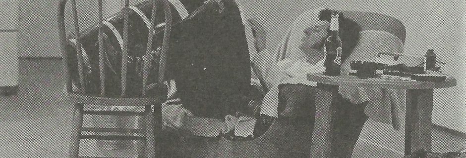 Allan Fish Drinks a Case of Beer @ Tom Marioni. 1972