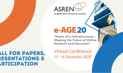 e-AGE20 call for papers: Power of e-Infrastructures