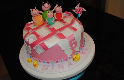 Cake design : Collection de Peppa Pig