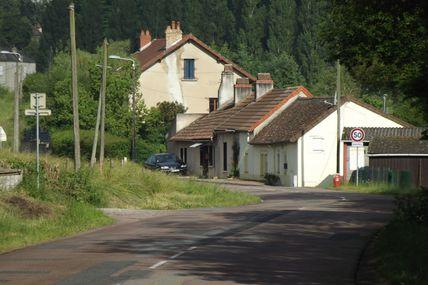 Quartier de la Croix-Verte/Pont l'Evêque : le chemin des Ragots.