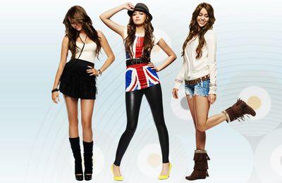 Wallpaper - Fond d'écran - Miley Cyrus (Hannah Montana)