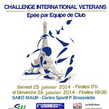 Challenge International Vétérans les 25 & 26 janvier 2014