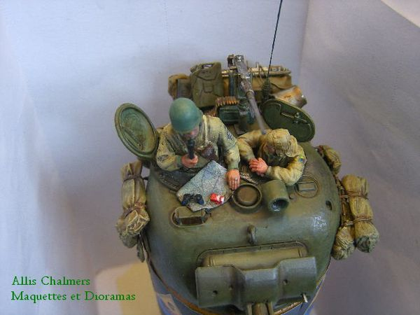 TOURELLE de SHERMAN au 1/35
