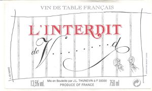 Vin de table - Vin de France