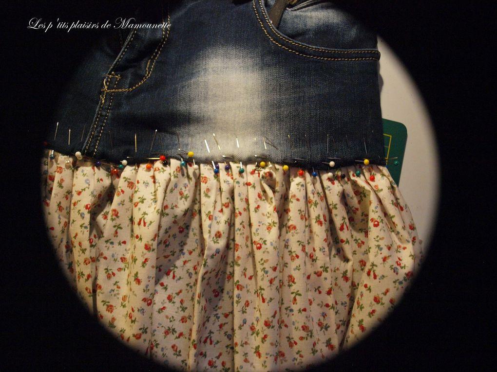 Ma jupe Liberty-Jeans