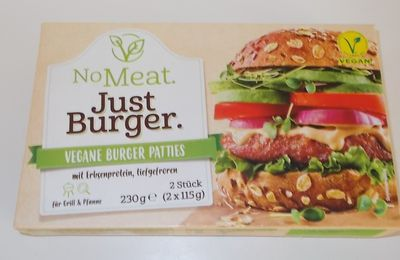 Edeka No Meat Just Burger Vegane Burger Patties