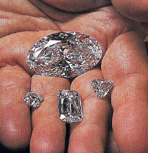 Imágenes de los diamantes de Angola.- El Muni.