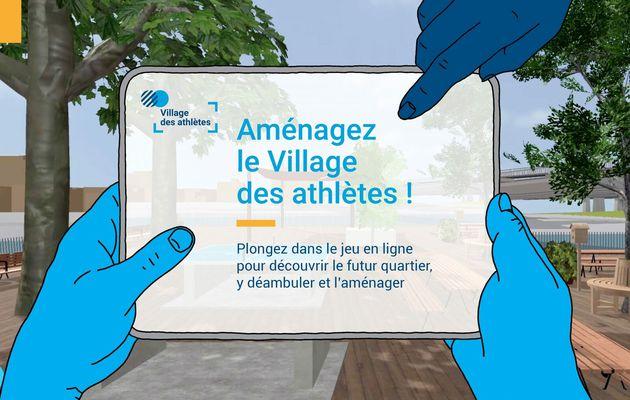 Un jeu sérieux en ligne pour aménager le village des athlètes