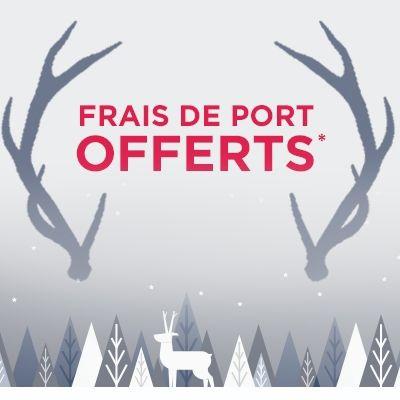 Pour Noël, les frais de port sont offerts
