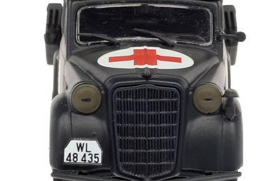 Opel Olympia sanitaire  (Altaya - 1/43)