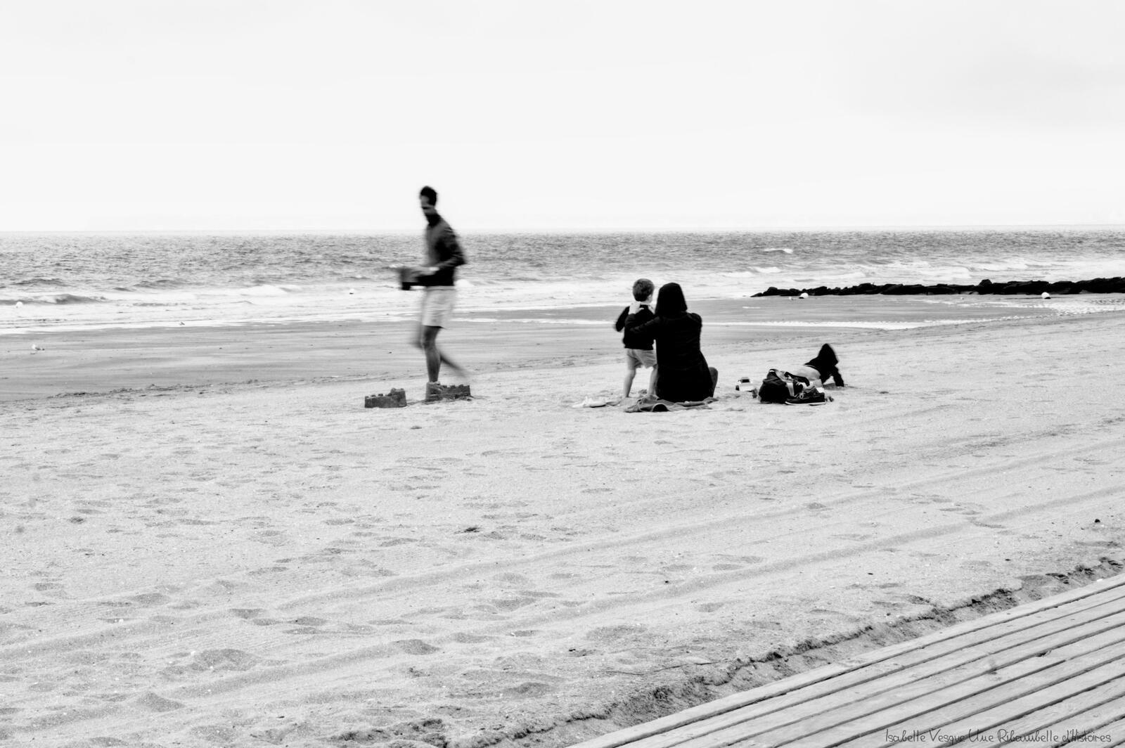 Ma photo du mois - Plage de Blonville sur mer