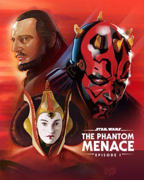 """Galerie d'affiches """"Fanart pour le Star Wars Day"""