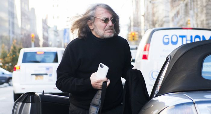 Dr. Harold Bornstein, personal physician to Donald Trump, arrives at his New York office. | Joe Marino/NY Daily News via Getty Images