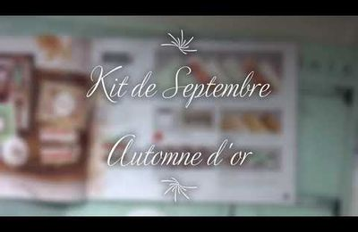 [Stampin'Kit] kit de septembre : Collection Automne d'or