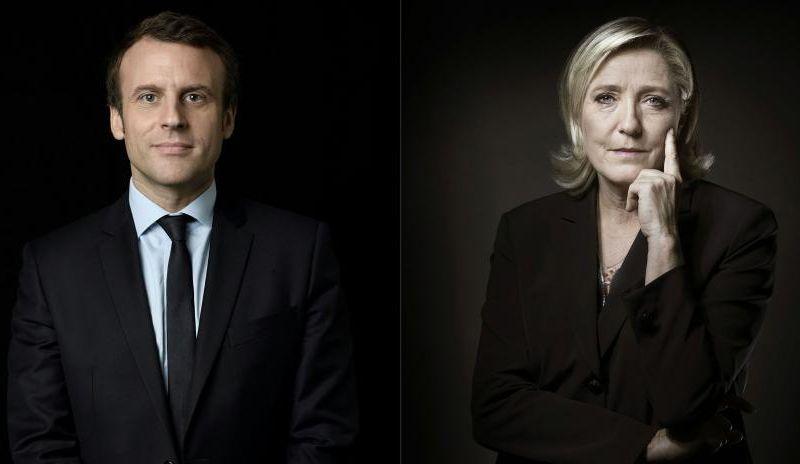 Surprenant. Si la présidentielle se déroulait aujourd'hui, Le Pen serait en tête au premier tour, Macron tiendrait le choc et gagnerait
