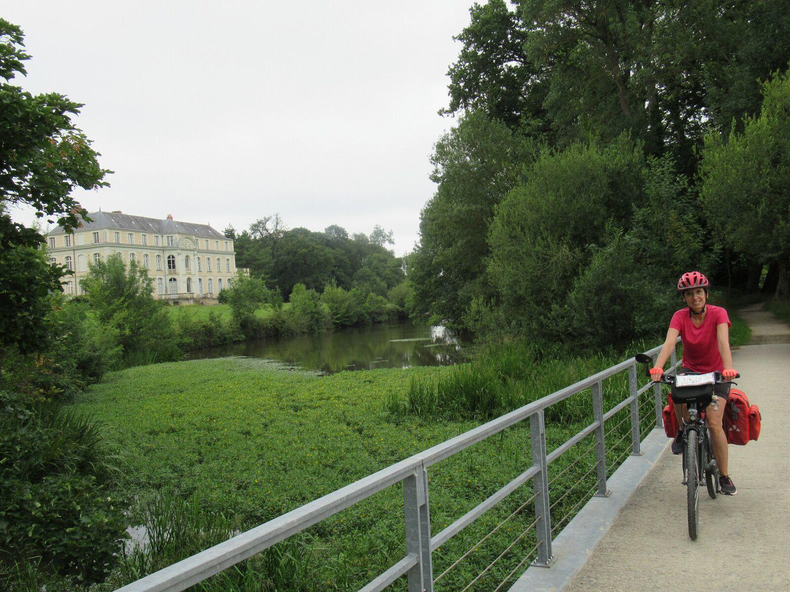 Au fil de la Mayenne : Etape 7 - Daon / Montreuil-Juigné - 62 km -A.R