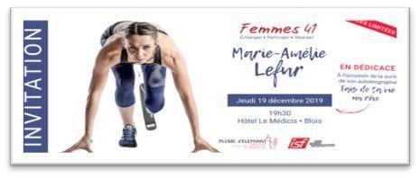 Conférence et dédicace de Marie-Amélie LEFUR le 19 décembre 2019