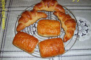 croissants et petits pains/chocolat