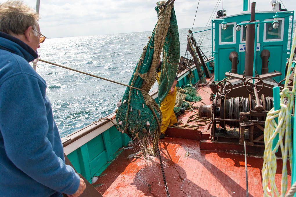 Pêche au chalut  sur le Kifanlo - Les Sables dOlonn