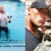 The Rock's puppy has died after eating a poisonous mushroom