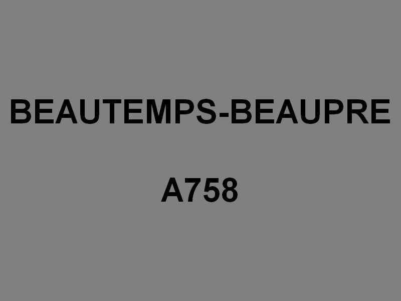BEAUTEMPS-BEAUPRE A758 , Batiment Hydrographique et Océanographique , BHO
