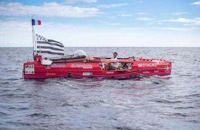 Un Breton de 29 ans traverse l'Atlantique à la rame