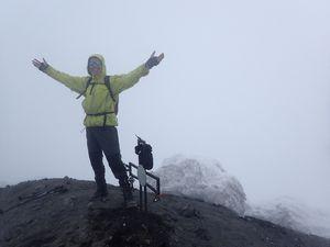 Sommet du Tungurahua 5023 m