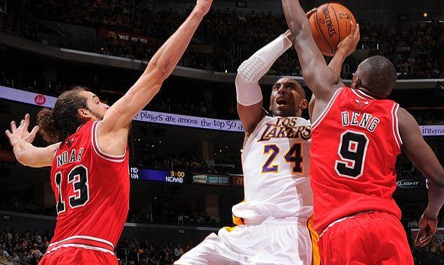Les Lakers dominent les Bulls et s'invitent dans le Top 8