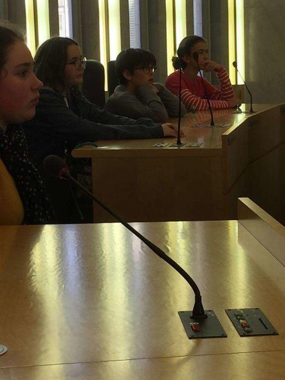 Forum des collégiens au Conseil Départemental de Seine-Maritime