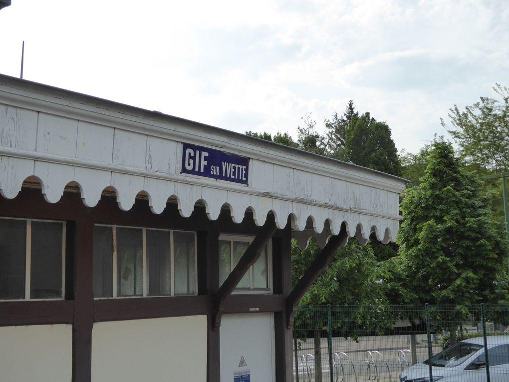 Randonnée en boucle de Gif-sur-Yvette 16 km. - 1/2