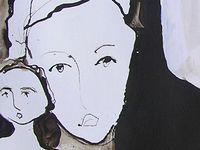 Peintures du 10 juillet : Jeanine Mandille, Jöelle Chevallier, Magda Rebutato (cliquez pour agrandir)