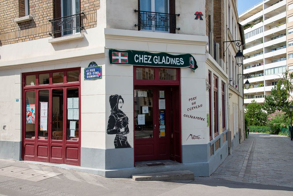 Demi-journée du dimanche 3 octobre 2021 murs peints du 13ème arrondissement de Paris et d'Ivry