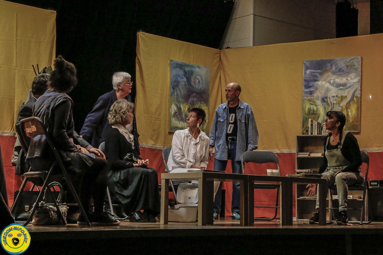 St André les Alpes  : AG Association les Pivoines Bleues