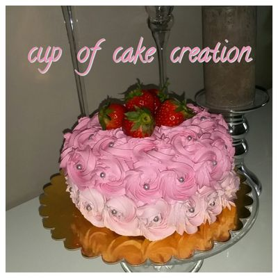 Cup of cake creation
