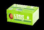 (6 Oeufs POULEHOUSE 3,99 euros (boîtes jaunes) et 5,99 euros (boîtes vertes)