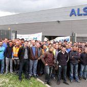 Alstom belfort : c'est la grève :