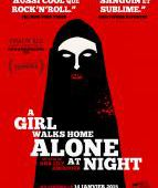 A girl walks home alone at night - film 2013 - Ana Lily Amirpour - Cinetrafic