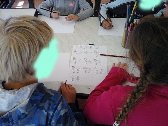 Temps d'activité périscolaire à l'école primaire de Rosans