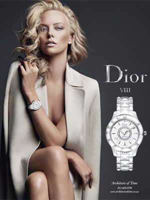 WHO'S MORE ICONIC? CHARLIZE THERON FOR DIOR....J'ADOOOOOOOOORE