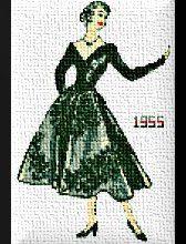 Une jolie dame:1955 !