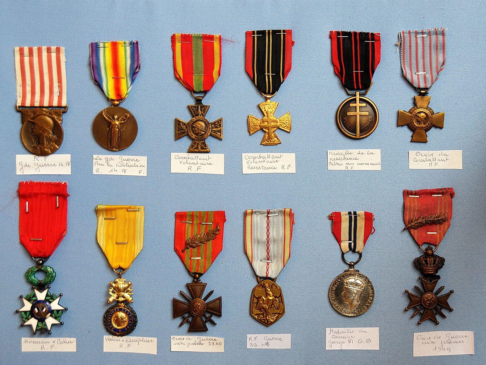 Impressionnant tableau d'honneur ( Source Gisèle B.)