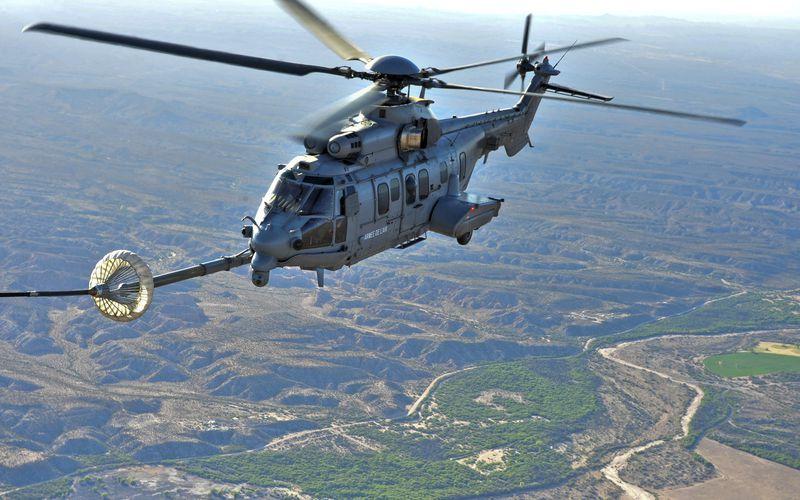Deux Caracal de l'Armée de l'Air participeront à l'exercice ANGEL THUNDER 2017