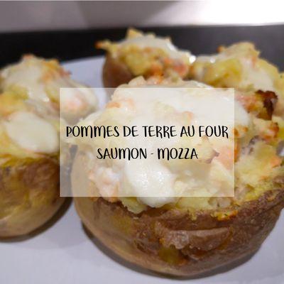• Pommes de terre au four saumon - mozza •